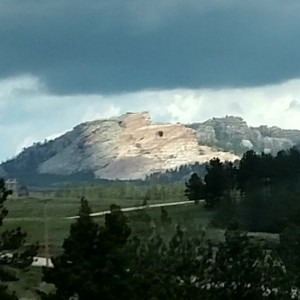 Crazy Horse Monument ; Picture taken by Dad!