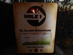 The first mile marker
