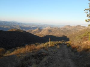 Heading up towards mile 3, the views keep getting greater!