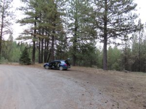 Boondocking spot in Fremont-Winema National Forest