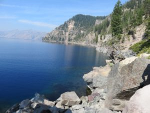 By the Water of Crater Lake