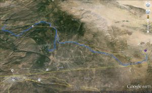 Old Highway 80, Lake Morena, and Japatul Valley Road