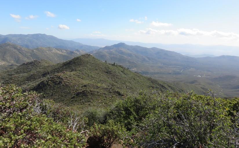 Indian Flats, Caliente Wilderness, to Combs Peak (09-27-2014)