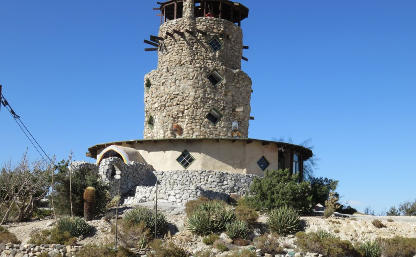 Desert View Tower and Old Highway 80 (10-25-2014)