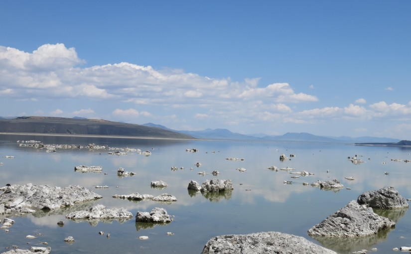 Mono Lake area to Lake Tahoe