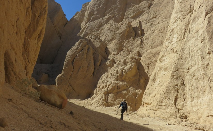 Hike in San Diego's Carrizo Badlands and Canyon Sin Nombre