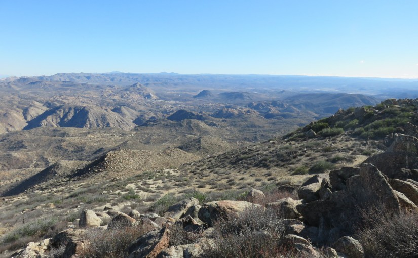 Hiking San Diego's Red Hill, Mount Tule, and Carrizo Overlook