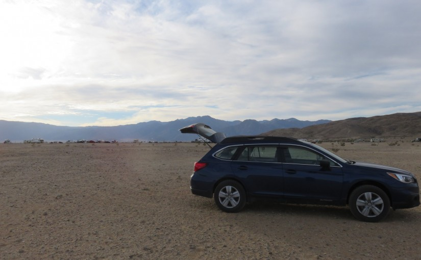 Boondocking near Borrego Springs