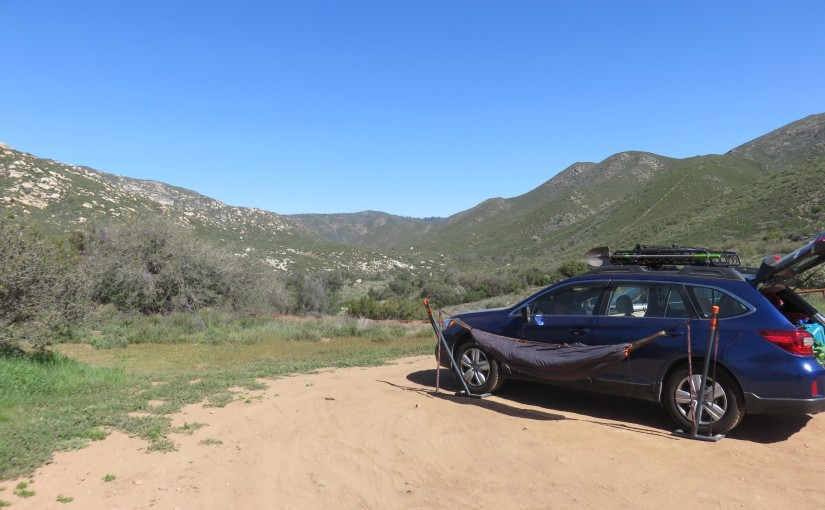 Noble Canyon: Hike and Camp