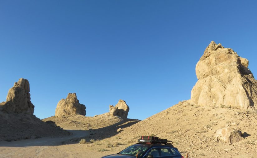 Nevada Residency and Trona Pinnacles