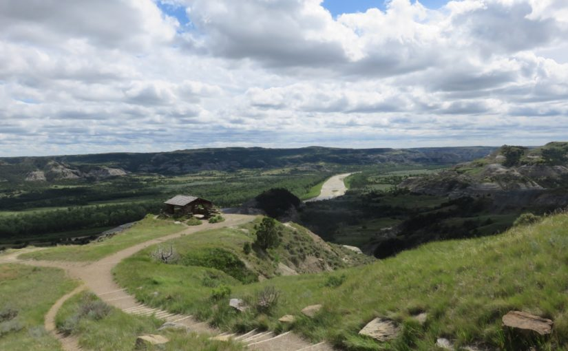Theodore Roosevelt National Park and Entering Montana