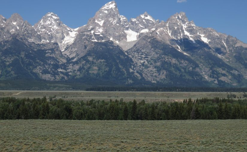 Grand Teton National Park, Drive and Inspiration Point