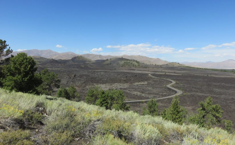 Craters of the Moon Hikes: Indian Tunnel, North Crater Trail, Wilderness/Broken Top Trail