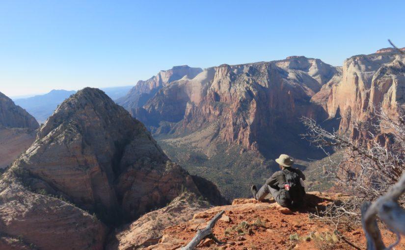 Zion NP: Kolob Arch and Deertrap Mountain