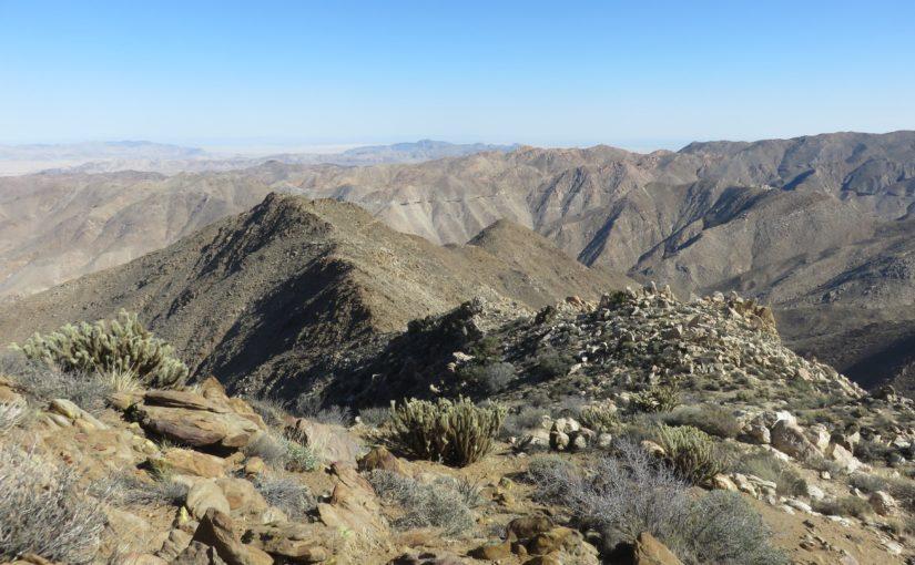 To San Diego: Peak 3339, Gasp Benchmark, Groan Benchmark, Rozzie Mountain