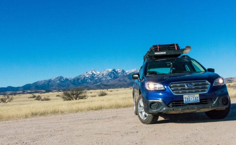 To Tucson: Las Cienegas NCA, Saguaro National Park, Gilbert Ray Camp