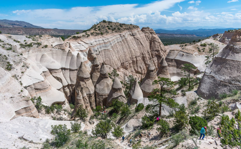 Bandelier and Kasha-Katuwe Tent Rocks National Monuments, Valles Caldera National Preserve, and Manhattan Project NHP