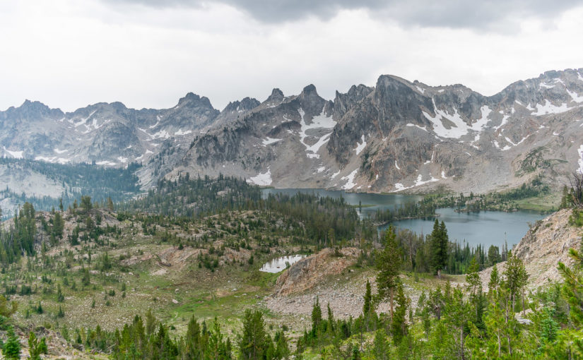 Sawtooth Wilderness : Alice-Toxaway Loop Hike
